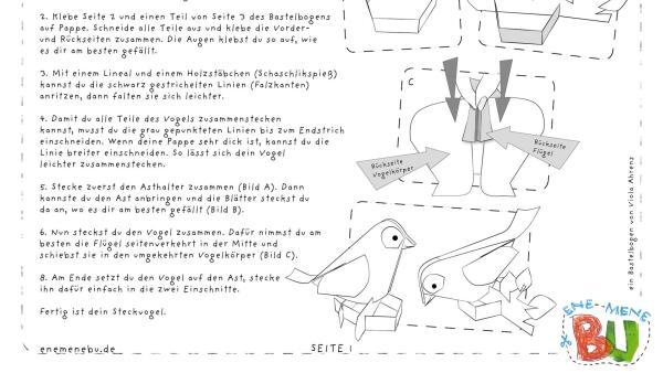 Ene Mene Bu Teaser Vogel | Rechte: KiKA