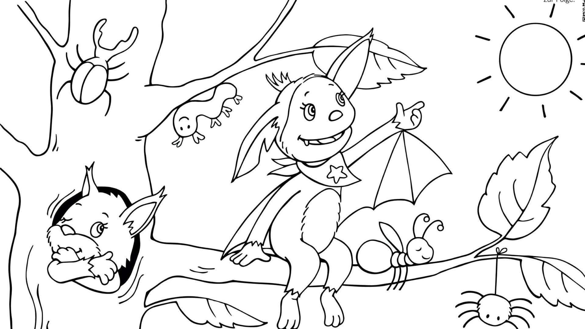 ausmalbilder mako einfach meerjungfrau - coloring and drawing