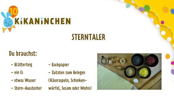 Anleitung für Sterntaler | Rechte: KiKA
