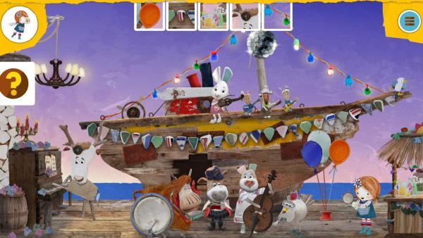 Wimmelspiel zu Lilys Strandschatz Eiland | Rechte: KiKA/Sixteen South Limited
