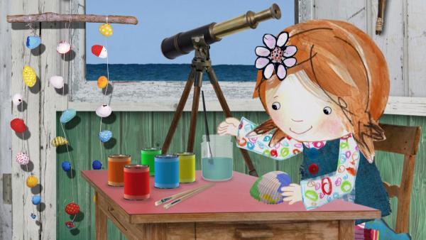 Bastelideen zu Lilys Strandschatz Eiland | Rechte: KiKA/Sixteen South Limited