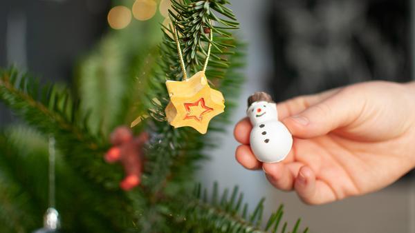Weihnachtsmagnete   Rechte: KiKA