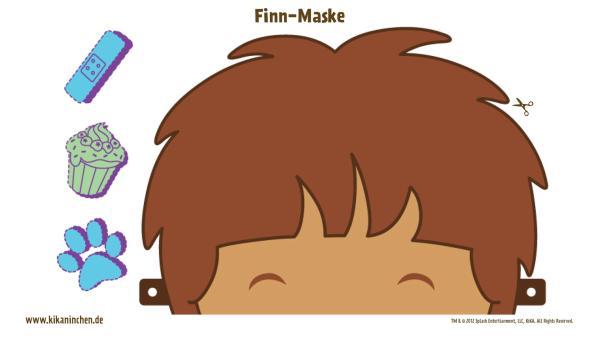 Finn - Maske | Rechte: TM/Splash Entertianment/LLC/KiKA