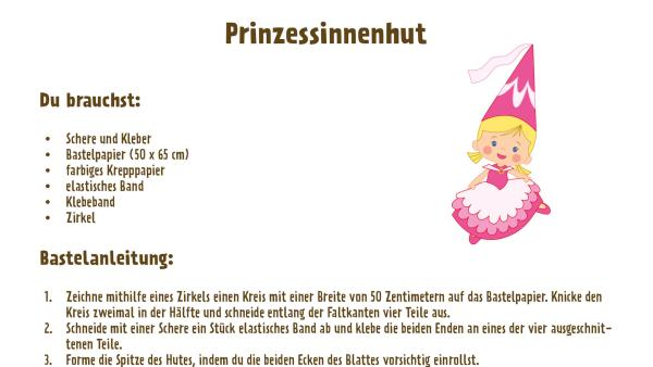 Prinzessinnenhut basteln  | Rechte: TM/Splash Entertianment/LLC/KiKA